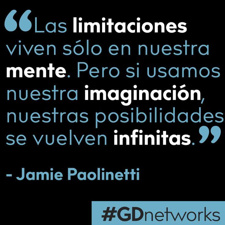Los limites están en nuestras mentes. Las posibilidades son infinitas, depende de nosotros aprovecharlas.   #tipsGDnetworks #deColombiaparaelmundo #GDnetworks #GDInternational  http://www.gdnetworks.co/ http://www.gdinternational.co/ Facebook: https://www.facebook.com/gdnetworks/ Instagram: https://www.instagram.com/gdnetworks/ Pinterest: https://www.pinterest.com/gdint/gd-networks/