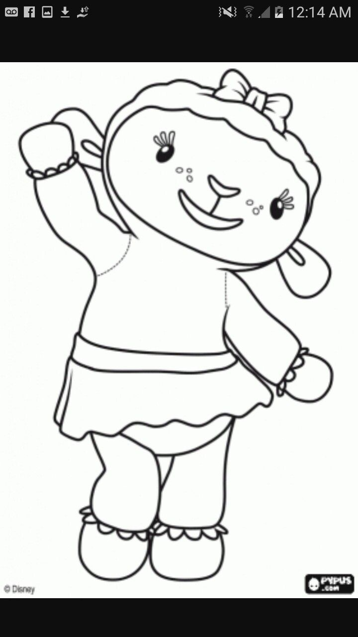 Disney coloring pages doc mcstuffins - Disney Jr Coloring Pages Doc Mcstuffins Kids Coloring Coloring Sheets Coloring Book Colouring Disney Junior