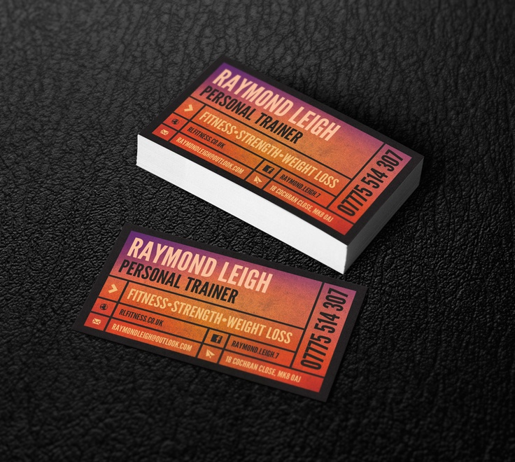 ray card mockup