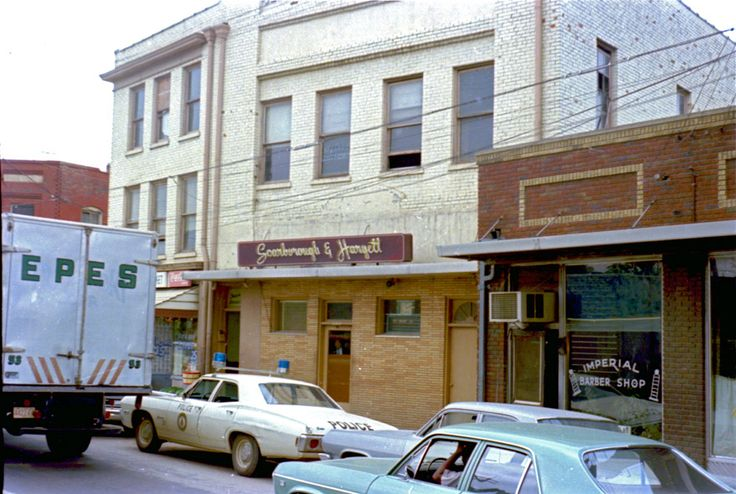 522-524 EAST PETTIGREW  Scarborough and Hargett Funeral Home / Imperial Barber Shop