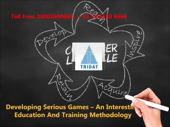 Developing Serious Games – An Interesting Education And Training Methodology  >>> The games developed under this program are being used to help people learn various complex concepts in a more successful manner. The success of this methodology has now inspired the educationists to develop serious games that can be used for imparting higher level education and training.  #DevelopingSeriousGames #Tridat #India
