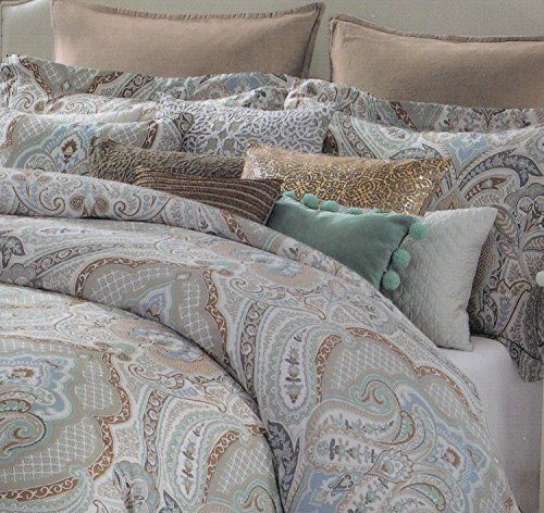 Tahari Aphrodite 3pc Duvet Cover Set Full Queen Or King
