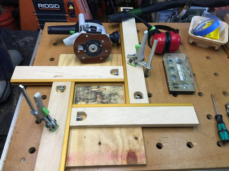 1 homemade mfs 600 router template for Diy router