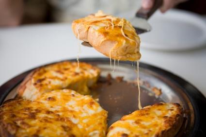 Cheesy Garlic Jalapeño Bread