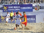 EURO BEACH SOCCER LEAGUE: L'#ITALIA : Soria in azione