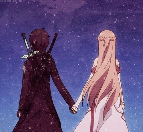 Sword Art Online - Kirito and Asuna :)