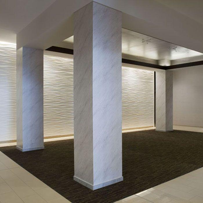 Millenium Hotel - Looks like marble.