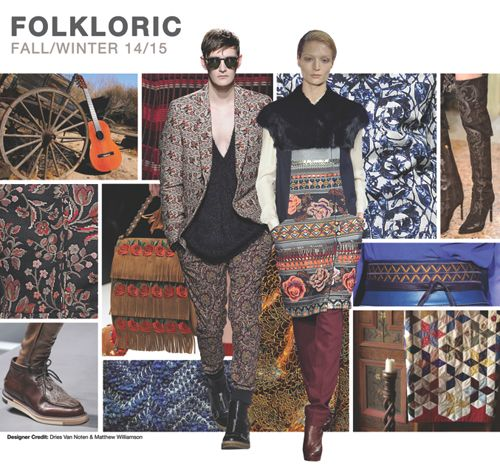 FOLKLORIC     Folkloric channels the boho glamour of the 60's and 70's, mixing expensive tastes with carefree attitudes inspired by the er...