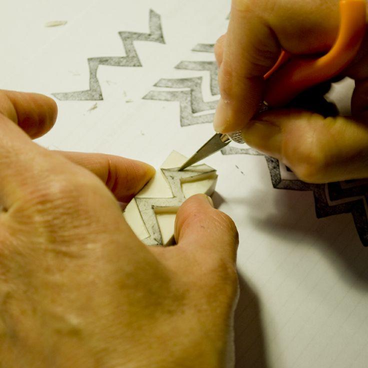 #marcocampedelli #timbriingomma #workshop #method #texture