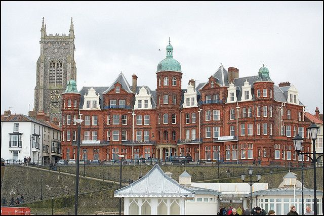 Hotel de Paris, Cromer, Norfolk, photo by Cameron Self, via Flickr