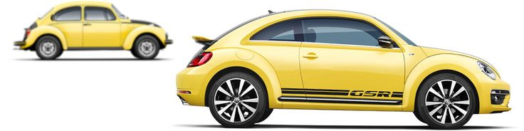 The Volkswagen Beetle GSR Limited Edition. Unlimited Power.