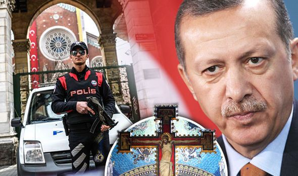 Islamist Turkey seizes ALL Christian churches in city and declares them 'state property' | World | News | Daily Express