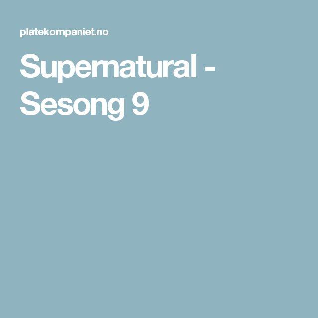 Supernatural - Sesong 9
