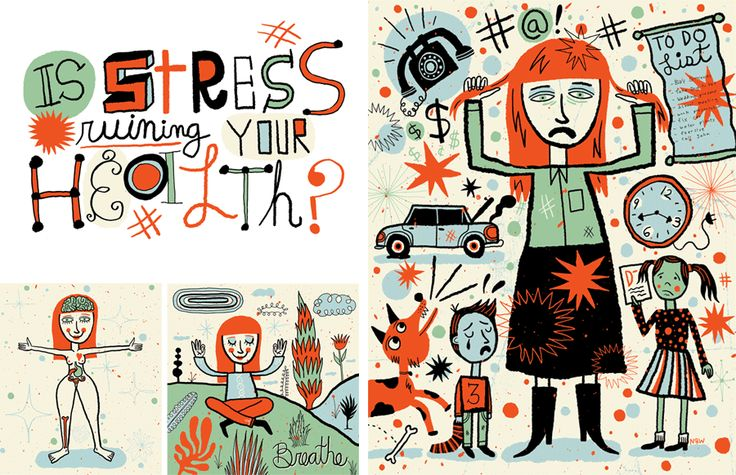 Awesome Nate Williams illustration. Looks like my life.