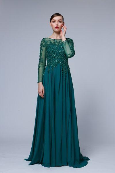 Luxusné popolnočné šaty - STRIH popolnočných šiat