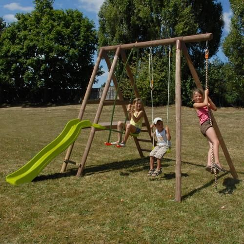 Soulet Romarin Wooden Play Centre | Soulet Wooden Swing Sets