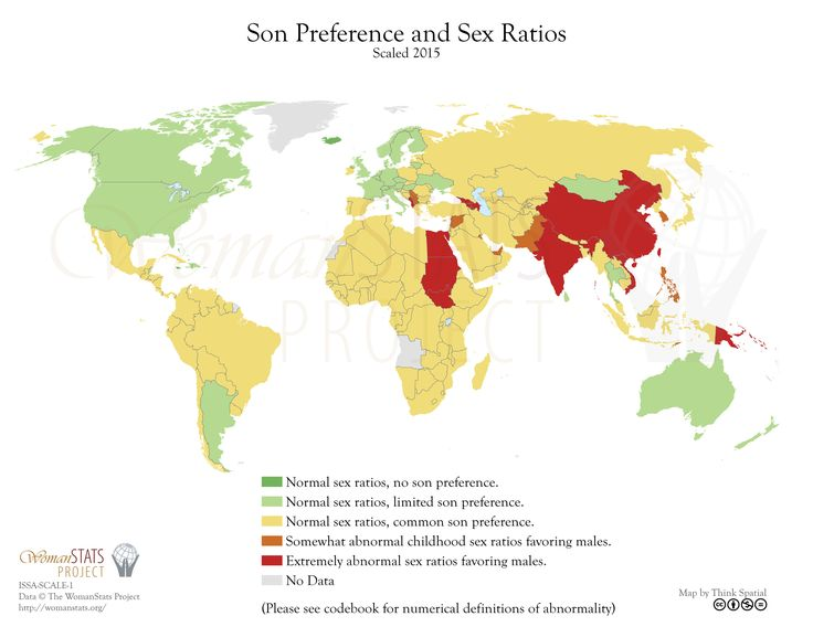 Son preference and Sex Ratios MAPS Pinterest - geographic preference