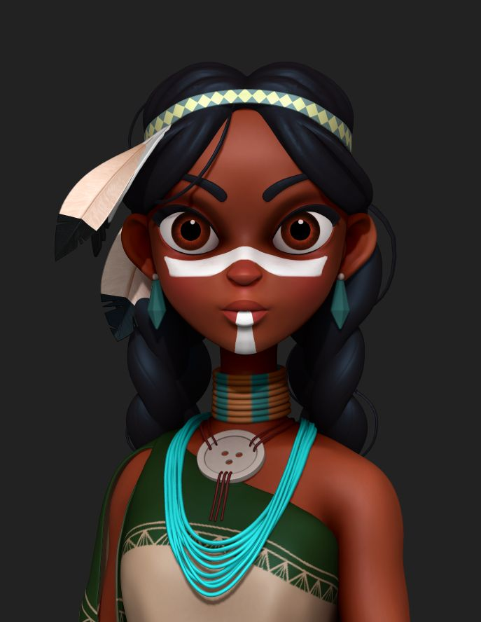 Anime Characters Zbrush : Best cartoon girls ideas on pinterest drawing