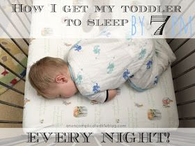 Very simple and easy to follow tips on getting your children to bed at a reasonable hour - every single night!
