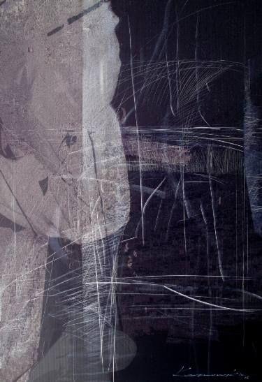 """Saatchi Art Artist Antoni Karwowski; Drawing, """"Black Figure"""" #art"""