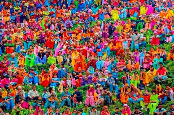 inspiring colourful India
