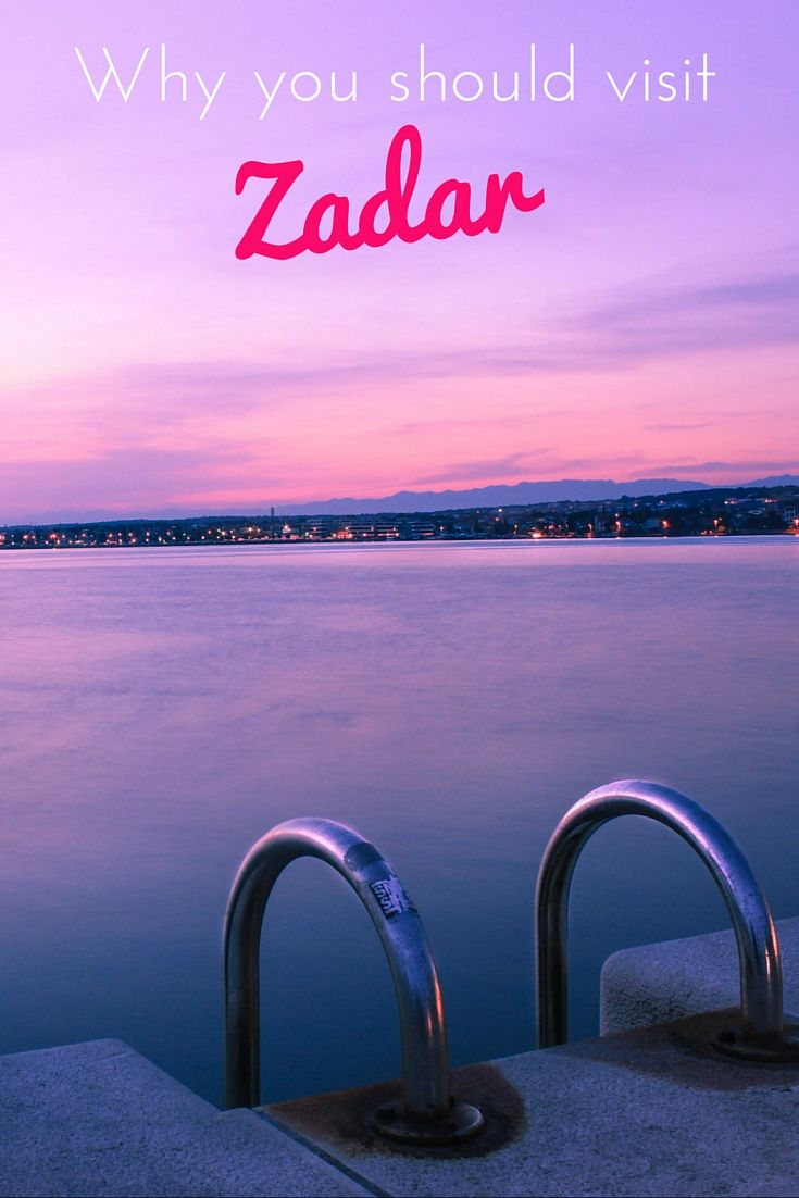 Zadar and the romantic sunsets | http://adventurousmiriam.com/zadar-and-the-romantic-sunsets/
