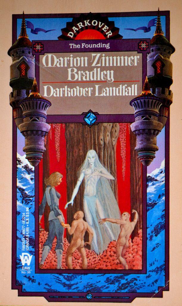 Darkover Landfall (Marion Zimmer Bradley) Cover Art: George Barr
