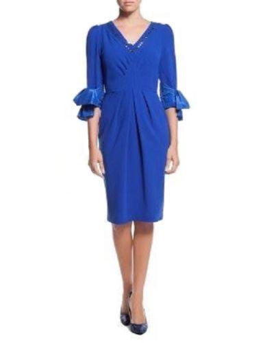 Koenigsblau-Kleid-Abendkleid-Cocktail-Kleid-Designer-Kleid-Blauen-Kleid-Size-36