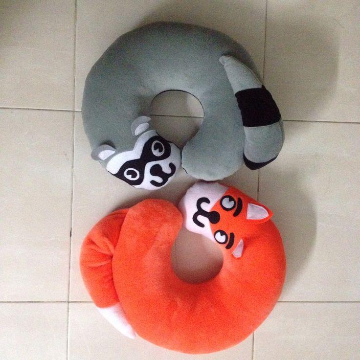 Karakter Musang Abu abu dan Orange