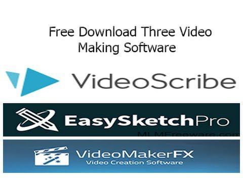 Three easy animation software - Easy Sketch Pro,Video Maker FX, VideoScr...