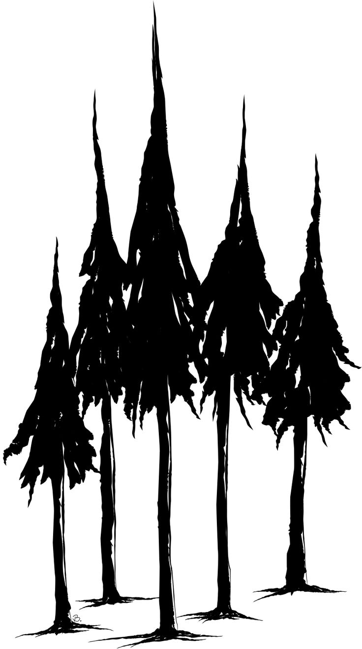 Pine Tree Stencil Beccy's place: pine trees