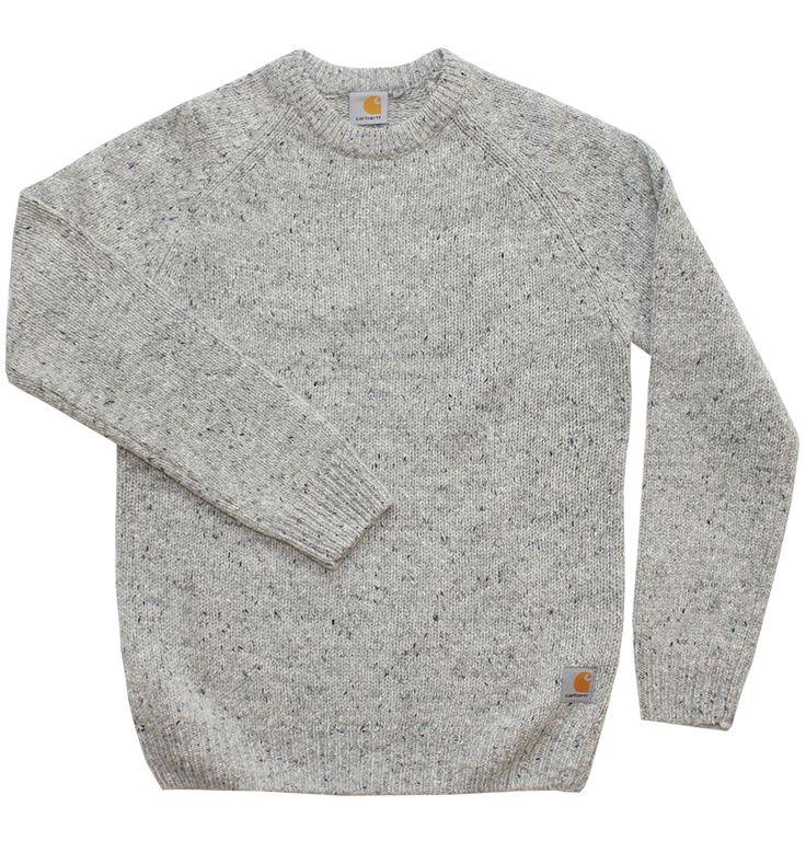 Carhartt WIP Anglistic Sweater | Raddest Men''s Fashion Looks On The Internet…
