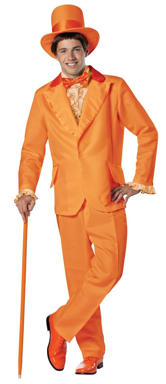 Dumb and Dumber Lloyd Orange Tuxedo Adult Costume from Buycostumes.com