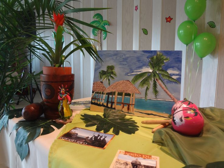 beautiful Puerto Rican Kitchen Decor #4: Puerto Rican Themed Birthday Party