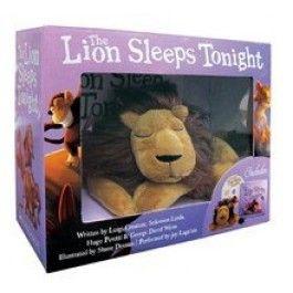 The Lion Sleeps Tonight Book & Plush Box Set $24.99