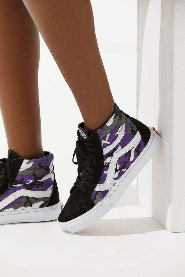 Vans Sk8-Hi Pop Camo Sneaker   Vans