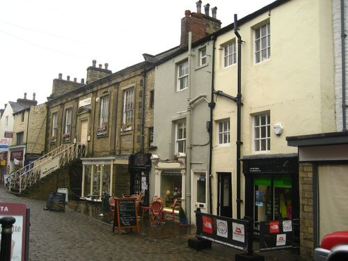 calle principal Skipton, UK