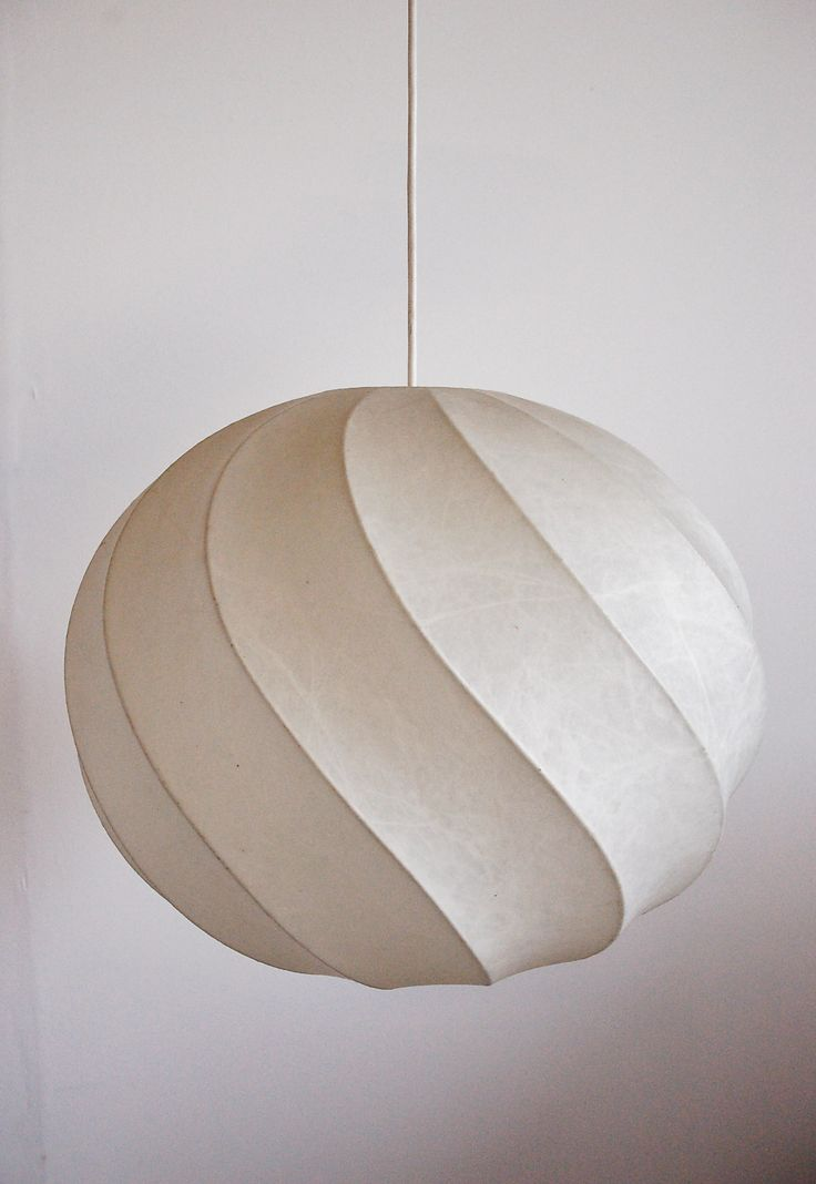 modernist cocoon light by Castiglioni