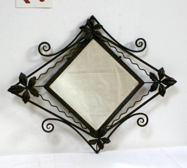 17 meilleures id es propos de miroir fer forg sur for Miroir en fer