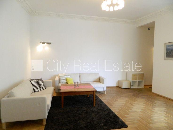 Apartment for rent in Riga, Riga center, 106 m2, 1700.00 EUR