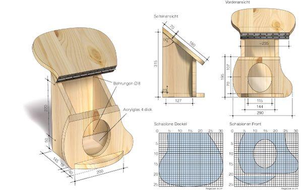 15 pins zu eichh rnchen futterhaus die man gesehen haben. Black Bedroom Furniture Sets. Home Design Ideas