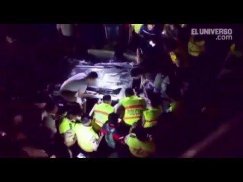 Terremoto Ecuador Abril 2016 Puente Caido
