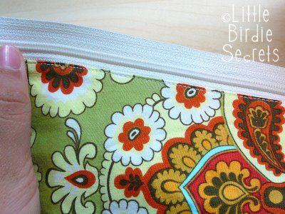 Little Birdie Secrets: wet bag tutorial
