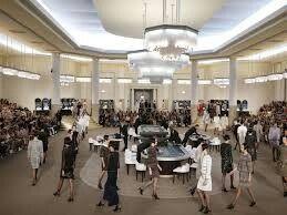 Chanel's fashion show
