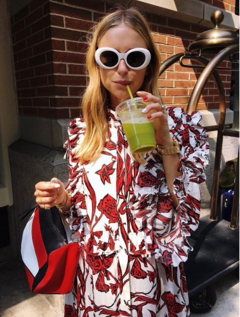 ACNE Studios Mustang Sunglasses (as seen on @pernilleteisbaek) $291