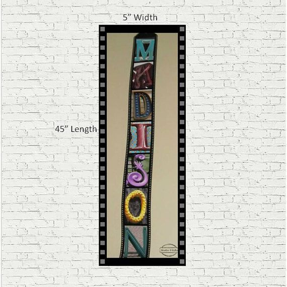 Personalised Film Strip Style Photo Decor  3D Film by StudioEGifts