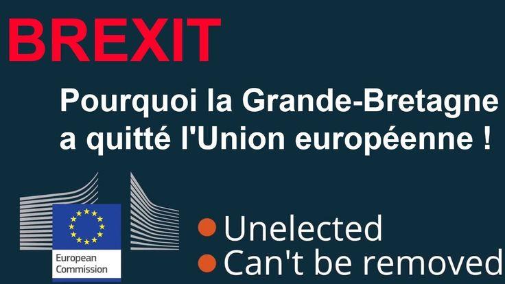 Brexit : Pourquoi la Grande-Bretagne a quitté l'Union européenne ! Es ce que l'Union européenne est bien pour l'Europe? ou Es ce que les Européen seraient mieux sans elle? Nigel Farage le leader de Ukip et du Brexit partage son point de vue. Merci à SparklingFire membre du discord du Rameau pour la traduction !  Facebook : http://ift.tt/2qmRFI2 Twitter : https://twitter.com/Nop_2022 Discord du Rameau : discord.lerameaulibre.org  Script anglais :  If one big government is bad imagine how much…