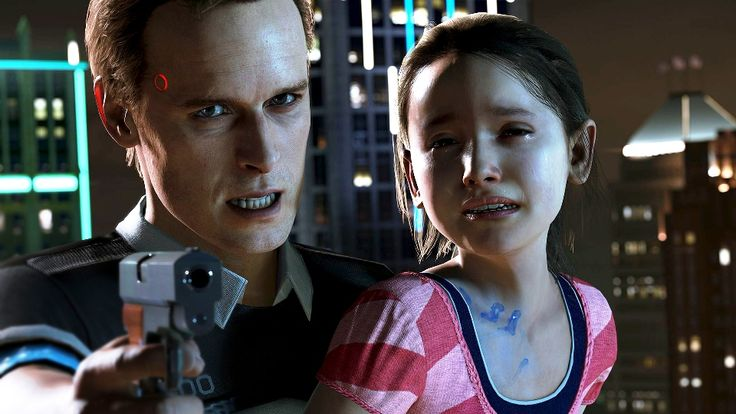 It's a story that tries to put the player in the role of storyteller, like all David Cage games. Quantic Dream is bringing another 'neonoir' thriller to our screens with Detroit. Two Souls, it...