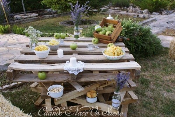 Fiesta r stica rustic party fiesta de cumplea os r stica for Decoracion rustica para bodas