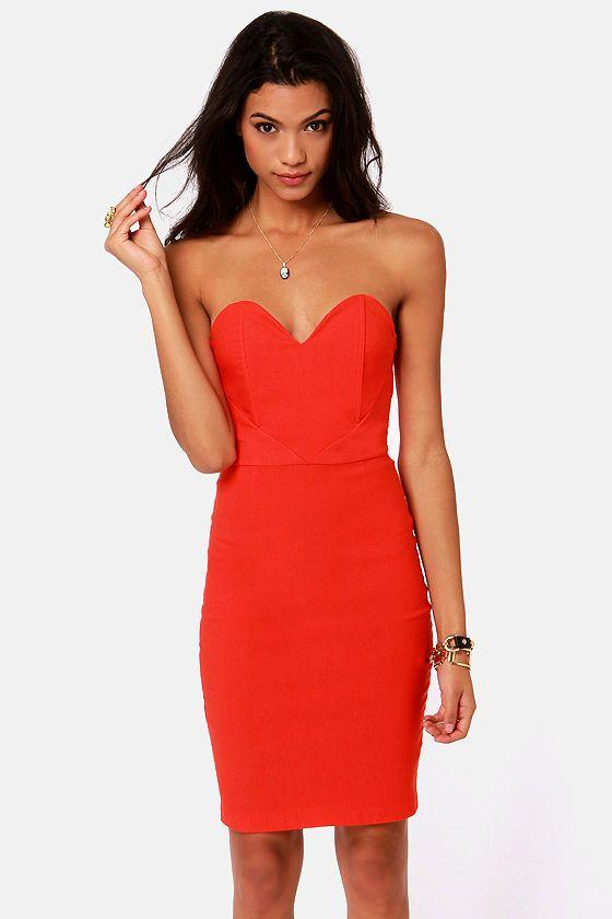 Heart Shaped Strapless Dress | But Dress